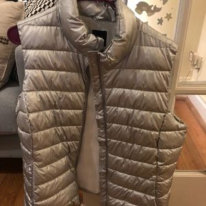 Silver, Gap quilted vest